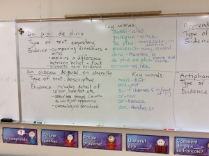 French 9 discussion summary 1