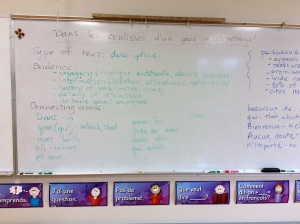 French 10 discussion summary 1