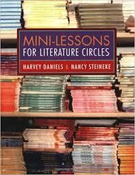 book cover mini lessons lit circles