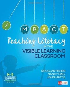book cover teaching literacy k-5